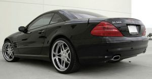 SL 500, the car