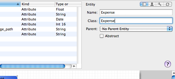 Make sure to specify the class in the model (highlighted field)