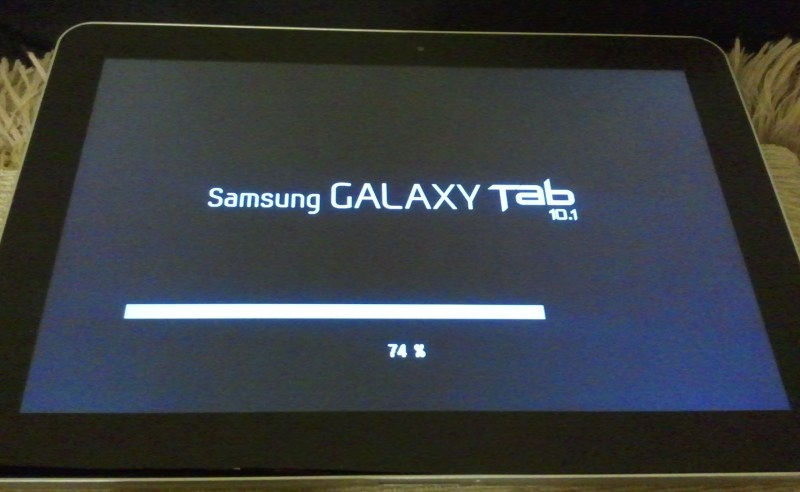 Getting Samsung Update to work on Samsung Galaxy Tab 10.1 ...