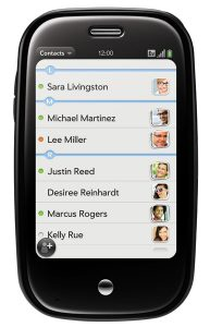 Palm Pre contacts application